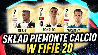 SKŁAD PIEMONTE CALCIO W FIFA 20 /ft. Ronaldo, Szczęsny, De Ligt... [PRZEWIDYWANIA]