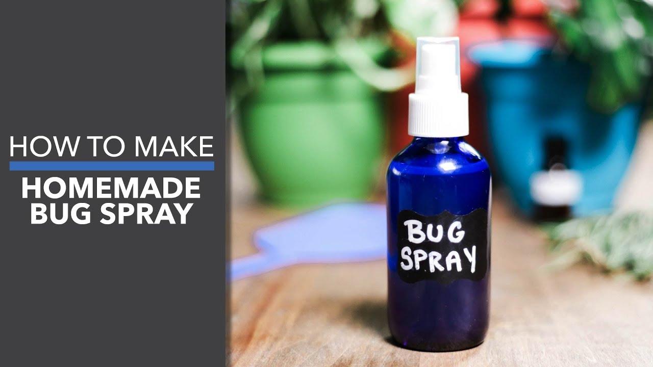 Homemade Bug Spray- Dr. Axe