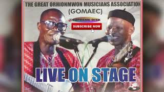 #BENIN MUSIC:- GREAT ORHIONMWON MUSICIANS ASSOCIATION LIVE ON STAGE