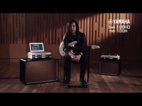 Yamaha THR100HD Dual Amp - Full Demo by Jack Thammarat (Thai Language)