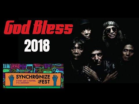 GODBLESS, Synchronize Fest 2018, The Legend