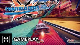 Splatoon Meets F-Zero?! Trailblazers - Gameplay (PS4 Pro)
