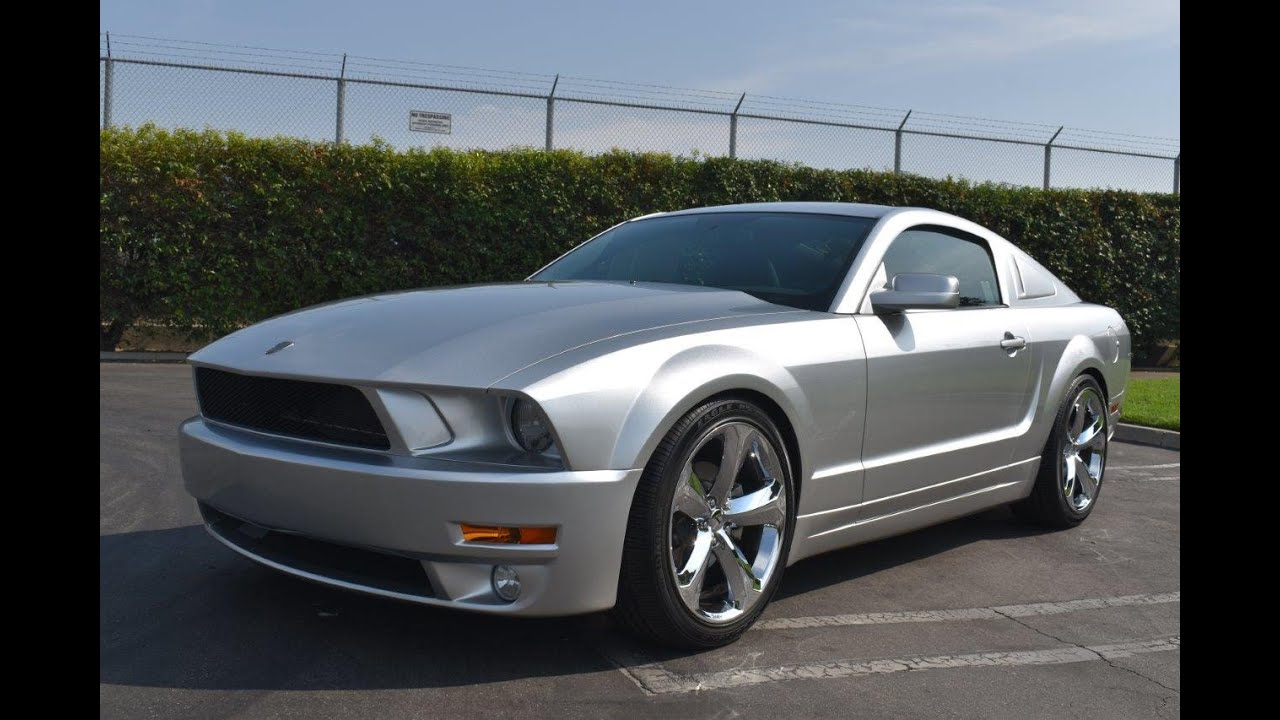 2009 Ford Mustang Iacocca 45th Anniversary Youtube