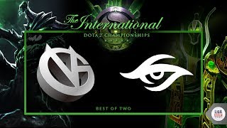 Secret VS Vici Gaming (BO2) - The International 2018 Group stage Day 2