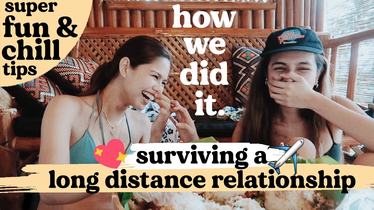 HOW MY PARTNER & I MADE LDR WORK : MUKBANG *ON THE SPOT* | Pilot Chezka & Clare Inso