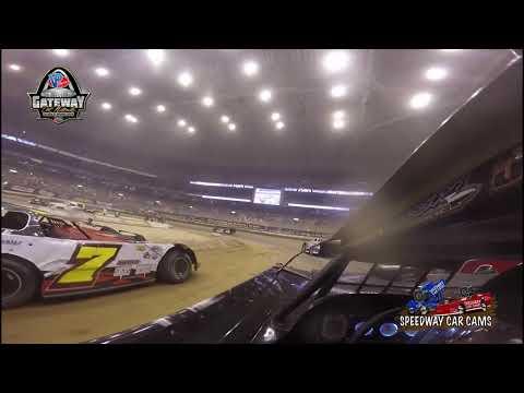 #84 Corey Ford - Super Late Model - 12-16-17 Gateway Dirt Nationals - In Car Camera