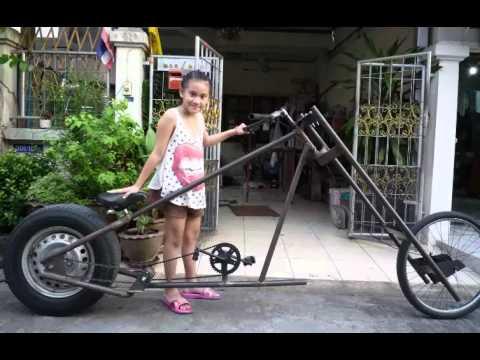 จักรยานช๊อปเปอร์ล้อรถยนต์ โดยเสือต้อง