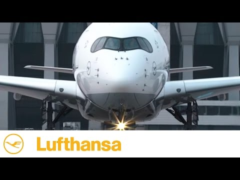 Frankfurt, meet our LHA350. Isn't she gorgeous?