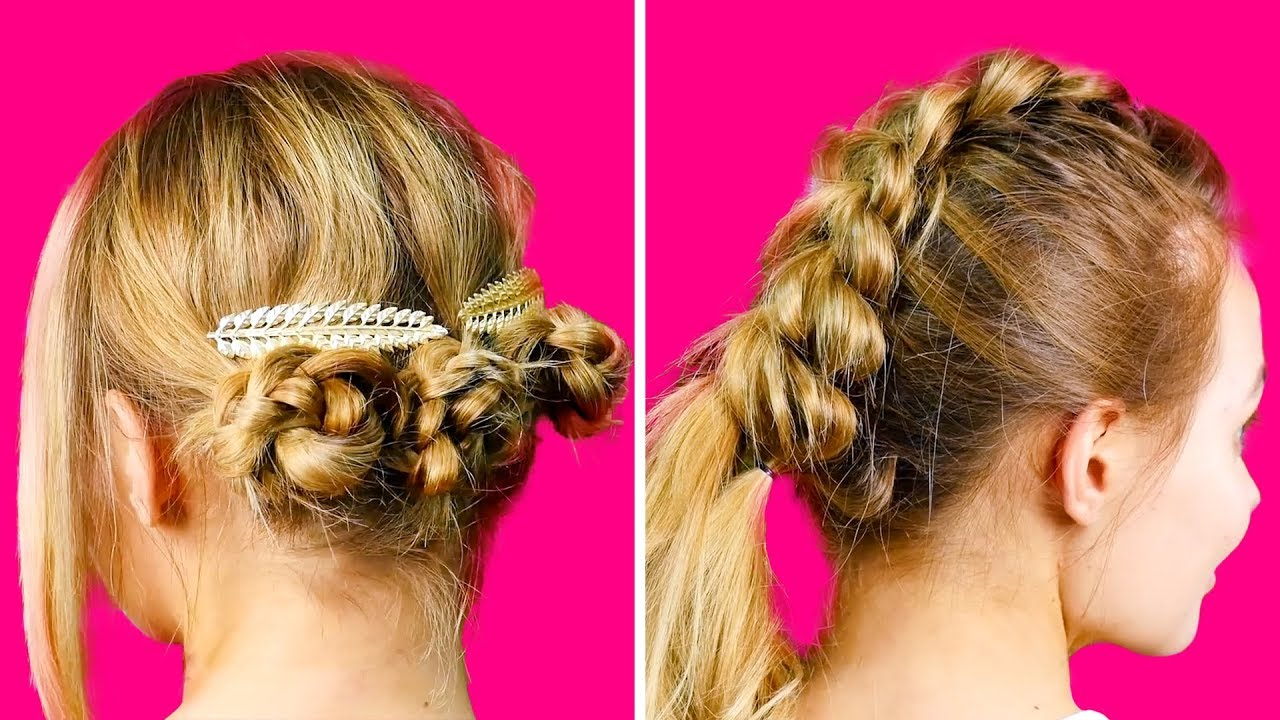 easy summer hair styles 25 simple summer hairstyles for 3864 | maxresdefault