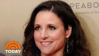 Julia Louis-Dreyfus Does Her Own Makeup In PSA, And The Results Are… Yikes! | TODAY