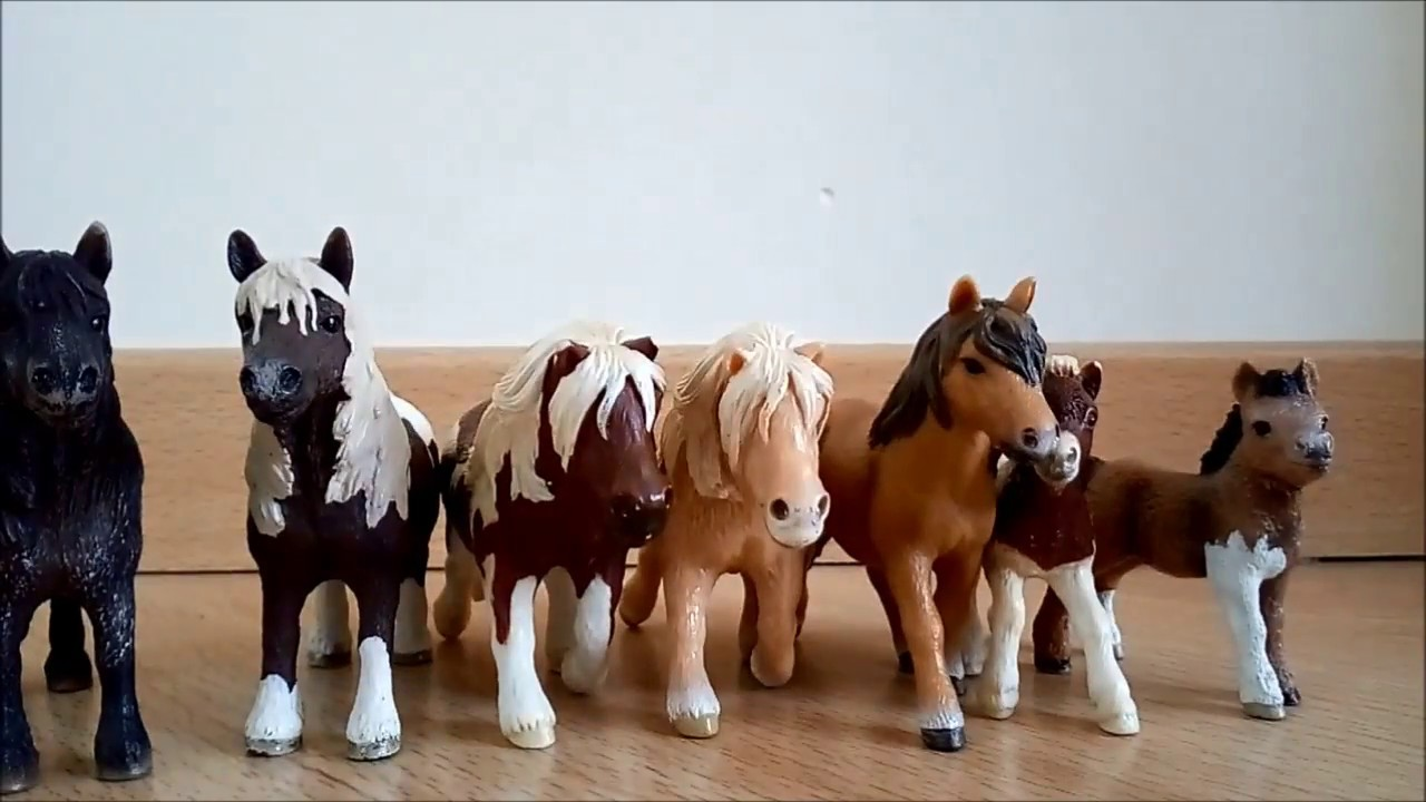 collection tour de mes chevaux schleich et papo. Black Bedroom Furniture Sets. Home Design Ideas