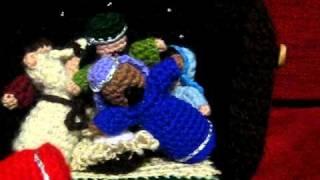 Crocheted Nativity Scene