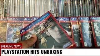 PLAYSTATION HITS UNBOXING 9 GAMES