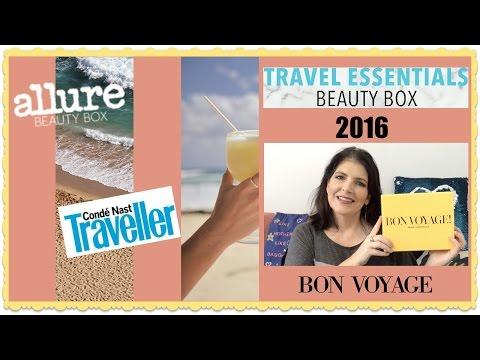 Bon Voyage Travel Essentials Beauty Box | Allure Beauty & Conde Nast Traveler