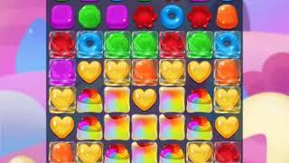 Jellipop match gameplay bonus level 1-3