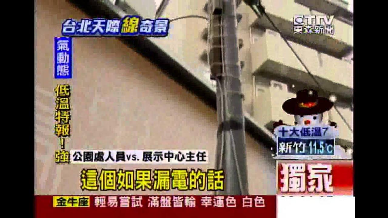 [東森新聞]偷接電?路燈電源蓋打開 外掛探照燈 - YouTube