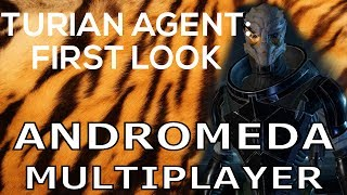 Turian Agent first look - Mass Effect Andromeda Multiplayer