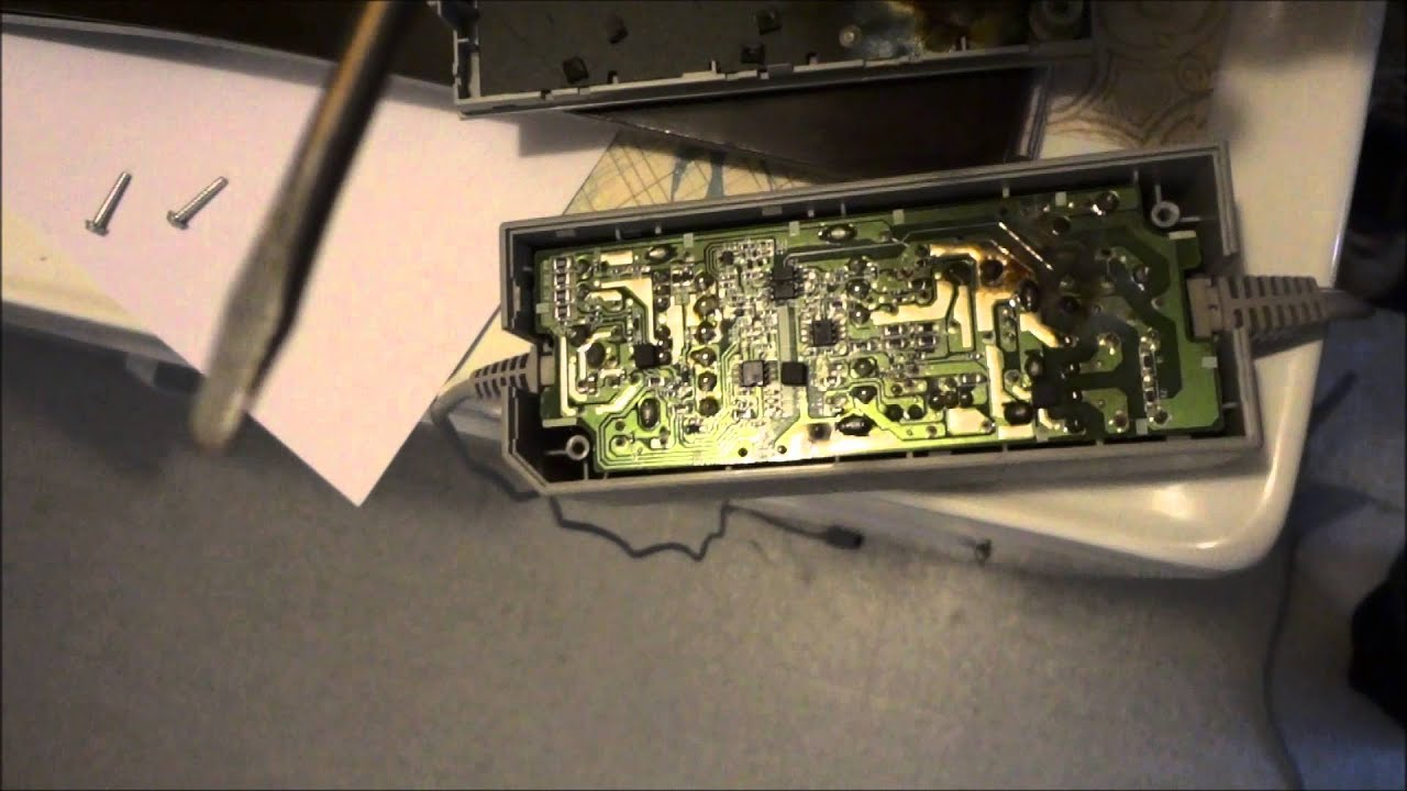 Wii Wont Power On After Lightening Strike Supply Disassembly Wiring Diagram
