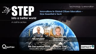 Innovations in Global Citizen Education – How Essential is Tech
