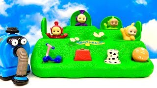Teletubbies Pop Up Toy for Kids with funny Story  Teletubisie Zabawki dla dzieci