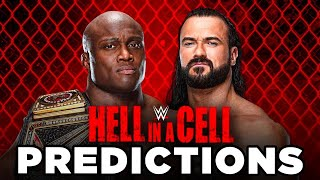 WWE Hell In A Cell 2021 Predictions