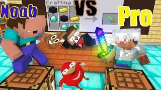 Monster School : NOOB vs PRO (Funny Crafting) - Minecraft Animation