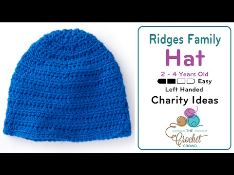 How To Crochet A Hat 2 4 Years Old Youtube