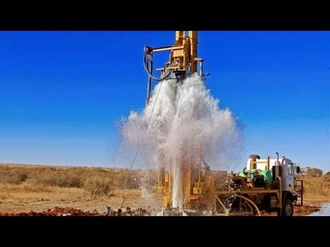 DRILLING BOREWELL COMING WATER IN SARDHAPOOR