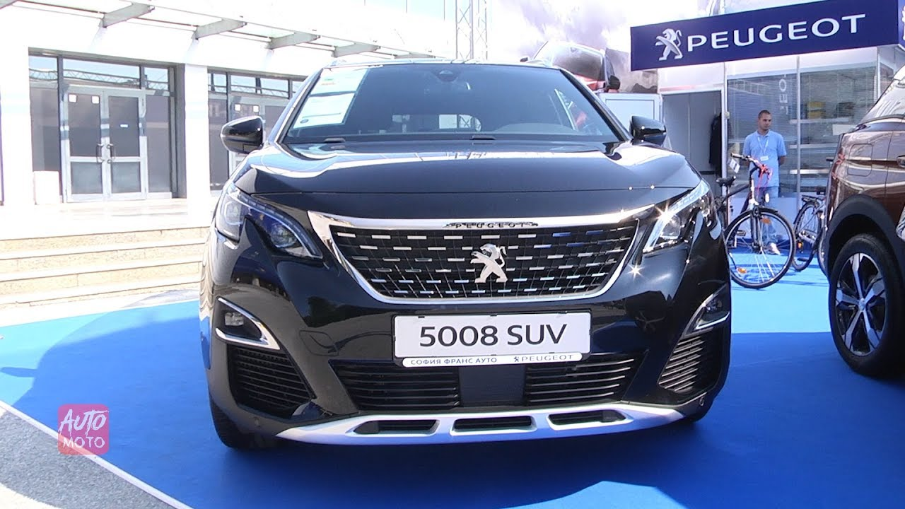 2019 peugeot 5008 gt line 1 2 exterior and interior. Black Bedroom Furniture Sets. Home Design Ideas