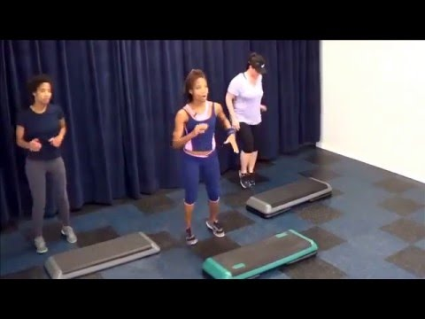 Basic Step Workout with Karla Luster