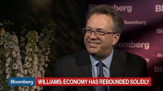 Fed's Williams on Economy, Inflation, Europe, Trade