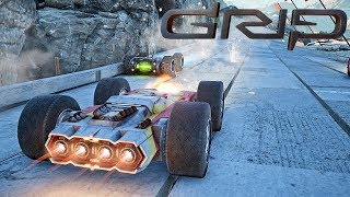 GRIP: Combat Racing - First 10 Minutes Campaign Gameplay (PS4 PRO)