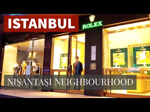 Nişantaşı Neighborhood in Istanbul Walking Tour  21September 2021 4k UHD 60fps