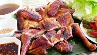 GÀ QUAY / GÀ NƯỚNG - Bí quyết ướp Gà và Quay Gà, nướng Gà sao cho ngon by Vanh Khuyen