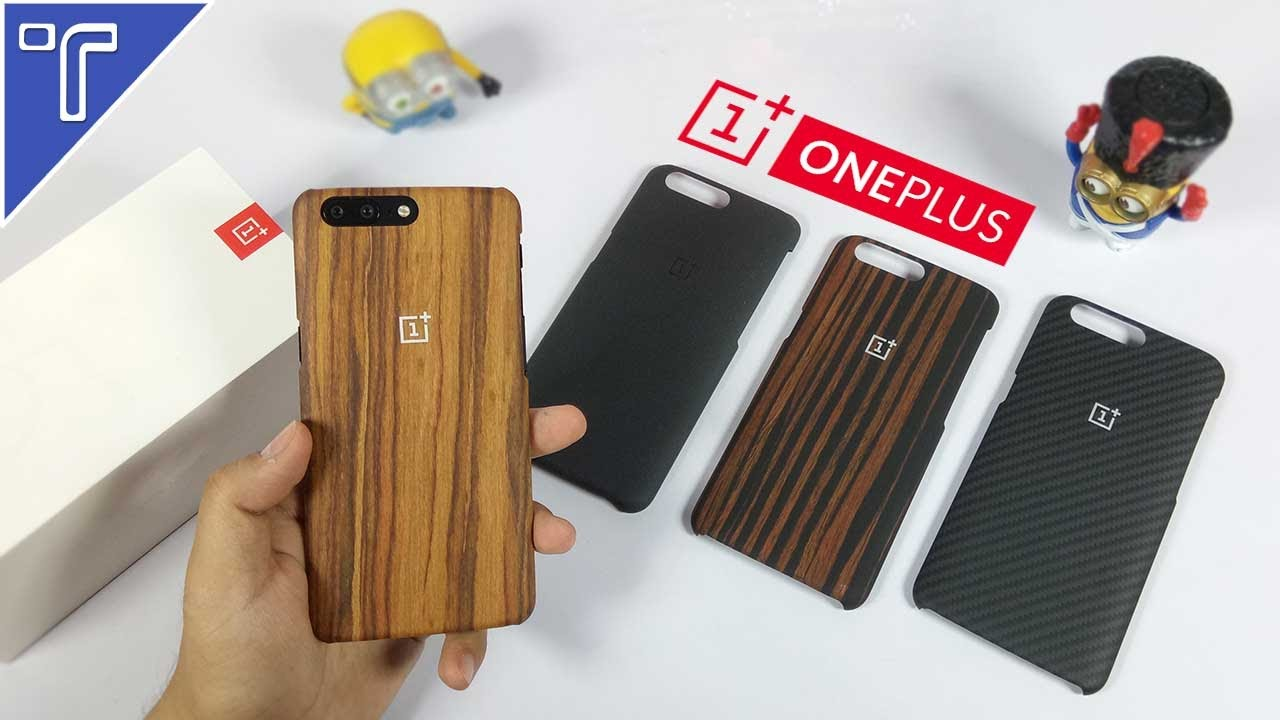 new arrivals 9f284 f6781 Official OnePlus 5 Cases you Can Buy! (SandStone, Kevlar, Ebony and  RoseWood)