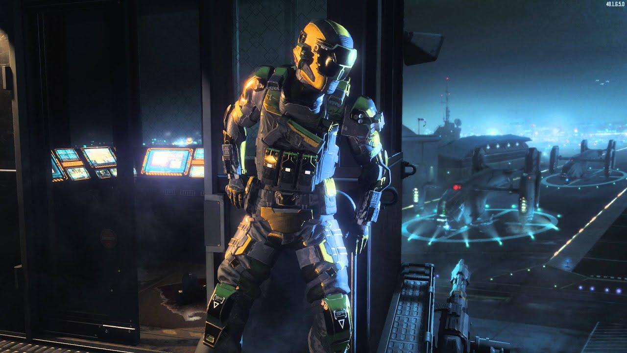 Spectre Hero Armor Lobby Screen Black Ops 3 Youtube