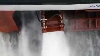 Wasserstrahlantrieb der Adler Express