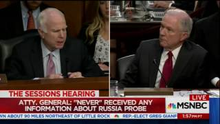 McCain destroys Sessions