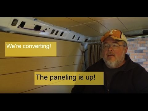 How To Install Paneling In A Van Camper