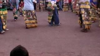 danza peregrinacion en guadalupe victoria mexico feria del maiz