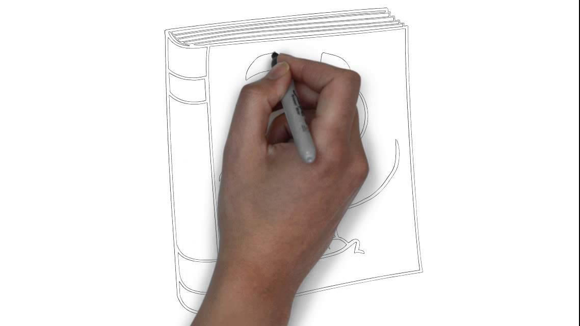 Cmo dibujar un libro de texto  YouTube