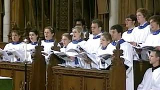Choral Evensong with the Choir of Clare College, Cambridge