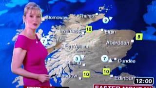 BBC weather lady carol letting saying 'Innit'