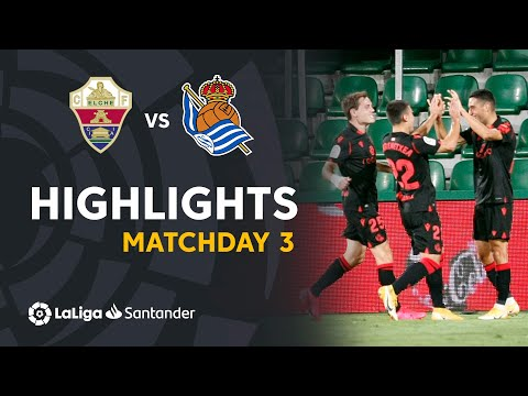 Elche Real Sociedad Goals And Highlights