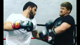 Чеченец вызвал Кадырова мастер спорта по боксу
