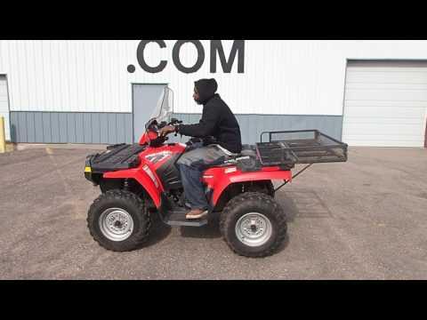 Lot 46 - 2009 Polaris Sportsman 500 HO ATV