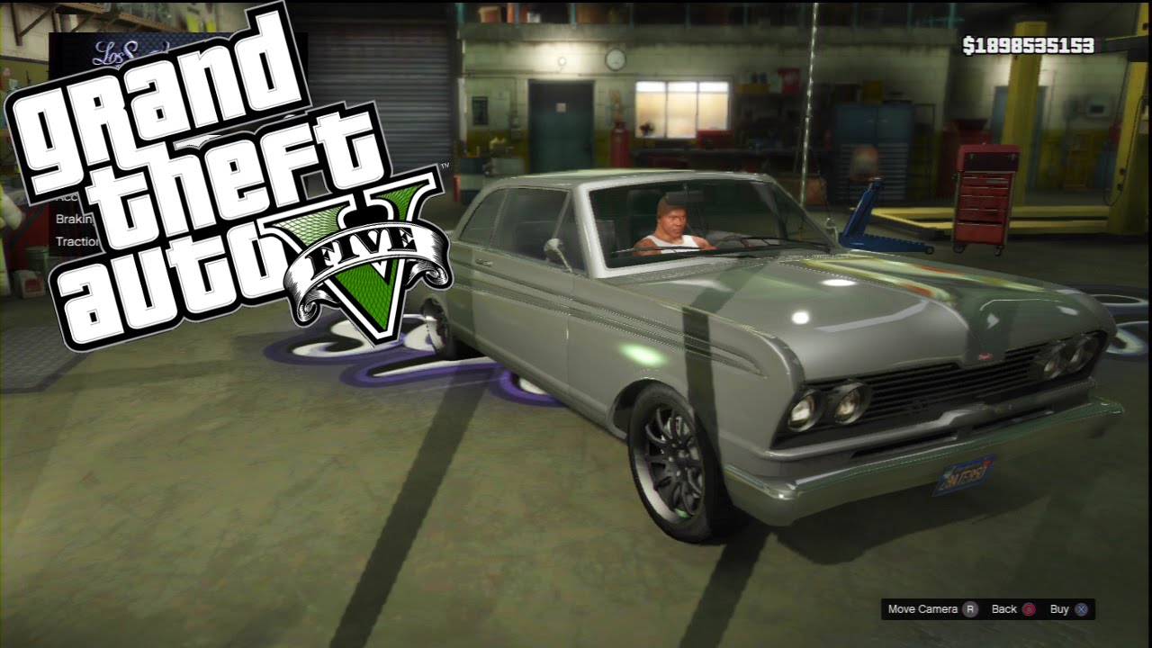 "GTA V: Custom Car Build || PS3 || Tokyo Drift ""Dom's ..."