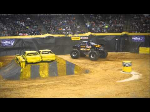 Monster Nation Bossier City Saturday Wheelie, Racing, and Freestyle Full Show 1-16-16