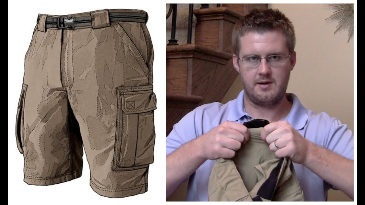 7d751af9d3 Duluth Trading Co. Khaki Cargo Shorts Review - YouTube