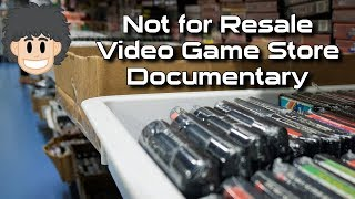 Video Game Store Documentary: Not for Resale - #CUPodcast
